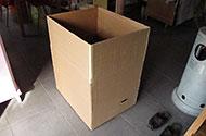 doos uitvouwen