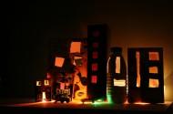 De lichtjesstad van Huub en Gien